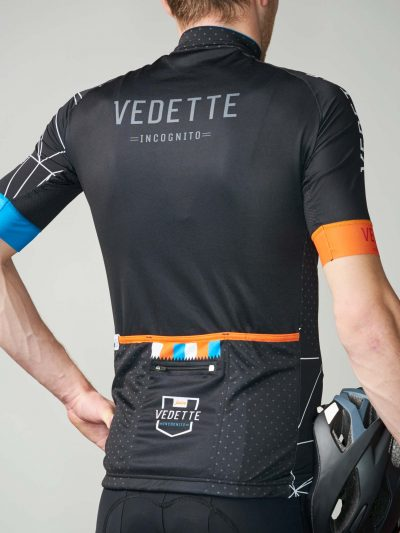Kingfisher cycling jersey