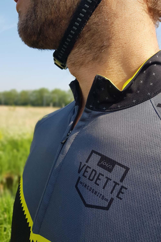 vedette incognito fietsshirt