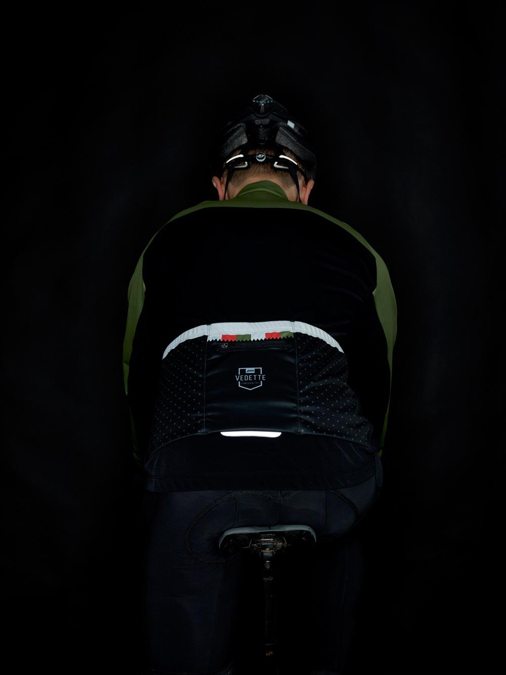 waterafstotend fietsjack